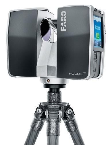Сша презентовала лазерный сканер faro